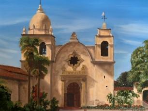 Mission San Carlos Boromeo, Carmel, California.