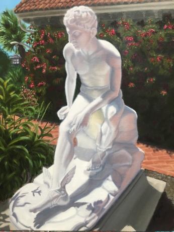 Marble Statue of Hermès.